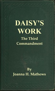 Cover of Daisy's Work: The Third Commandment