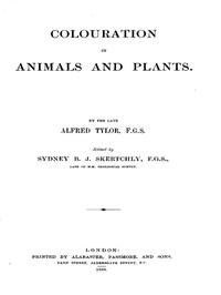 Colouration in Animals and Plants