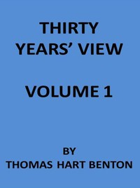 Thirty Years' View (Vol. 1 of 2) or, A History of the Working of the American Government for Thirty Years, from 1820 to 1850