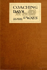 Cover of Coaching Days & Ways
