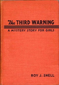 Cover of Third WarningA Mystery Story for Girls