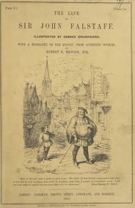 Cover of The Life of Sir John Falstaff