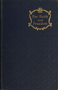 Cover of For Faith and Freedom
