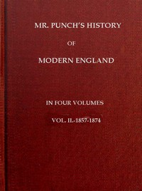 Cover of Mr. Punch's History of Modern England, Vol. 2 (of 4).—1857-1874