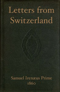 Cover of Letters from Switzerland