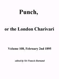 Cover of Punch, or the London Charivari, Volume 108, February 2, 1895