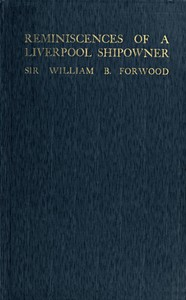 Cover of Reminiscences of a Liverpool Shipowner, 1850-1920