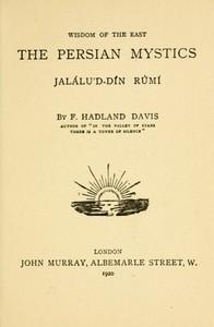 Cover of The Persian Mystics: Jalálu'd-dín Rúmí