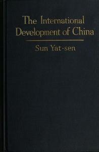 The International Development of China