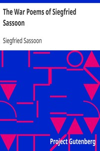 Cover of The War Poems of Siegfried Sassoon