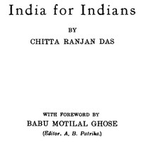 Cover of India for IndiansEnlarged Edition