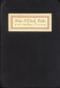 Cover of Nine O'Clock Talks