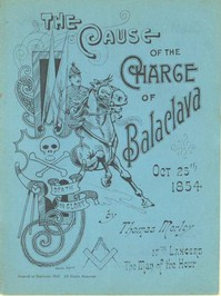 Cover of The Cause of the Charge of Balaclava