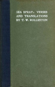 Cover of Sea Spray: Verses and Translations