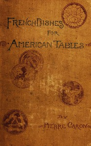 Cover of French Dishes for American Tables