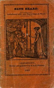 Cover of The Popular Story of Blue BeardEmbellished with neat Engravings
