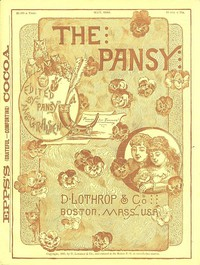 Cover of The Pansy Magazine, May 1886