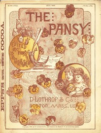 Cover of The Pansy Magazine, July 1886