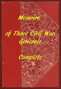 Cover of Memoirs of the Union's Three Great Civil War Generals