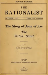 The Story of Joan of Arc the Witch-Saint
