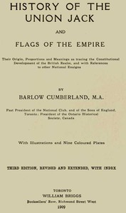 Cover of History of the Union Jack and Flags of the Empire