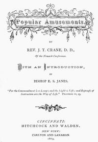 Cover of Popular Amusements