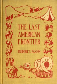 Cover of The Last American Frontier