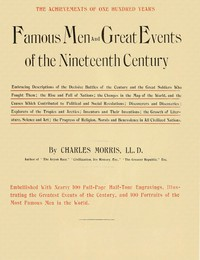 Cover of Famous Men and Great Events of the Nineteenth Century