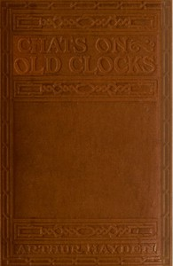 Cover of Chats on Old Clocks