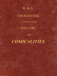 Cover of Gallery of Comicalities; Embracing Humorous Sketches