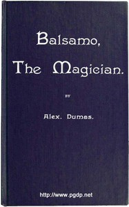 Cover of Balsamo, the Magician; or, The Memoirs of a Physician
