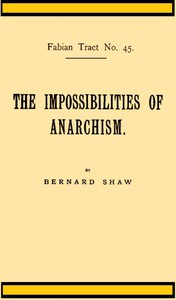 Cover of The Impossibilities of Anarchism