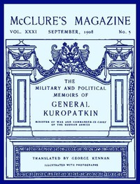 Cover of McClure's Magazine, Vol. XXXI, September 1908, No. 5