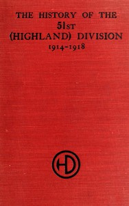 Cover of The History of the 51st (Highland) Division 1914-1918