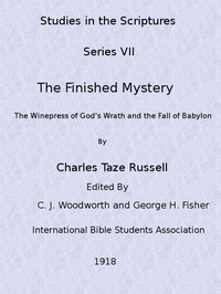 Cover of Studies in the Scriptures, Volume 7: The Finished Mystery