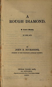 A Rough Diamond: A Comic Drama in One Act
