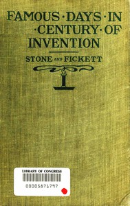 Famous Days in the Century of Invention