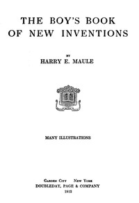Cover of The Boy's Book of New Inventions