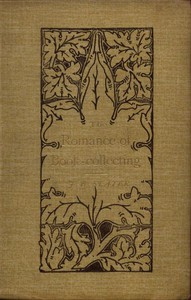 Cover of The Romance of Book-Collecting