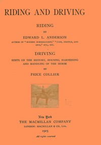 Cover of Riding and Driving