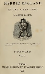 Merrie England in the Olden Time, Vol. 1