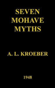 Cover of Seven Mohave Myths