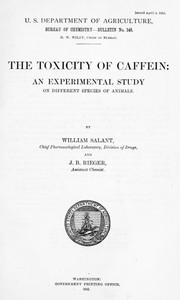 The Toxicity of Caffein: An experimental study on different species of animals