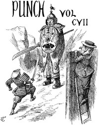 Cover of Punch, or the London Charivari, Volume 107, October 13, 1894