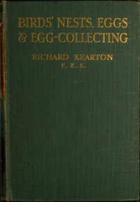 Birds' Nests, Eggs and Egg-Collecting