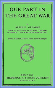 Cover of Our Part in the Great War