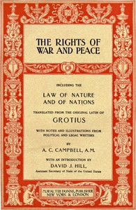 Cover of The Rights of War and Peace