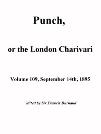 Cover of Punch, or the London Charivari, Vol. 109, September 14th, 1895