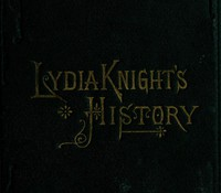 Cover of Lydia Knight's HistoryThe First Book of the Noble Women's Lives