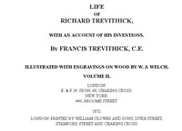 Cover of Life of Richard Trevithick, with an Account of His Inventions. Volume 2 (of 2)